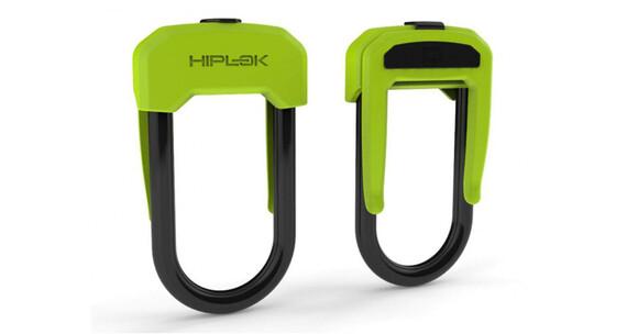 Hiplok D Zapięcie kablowe  żółty
